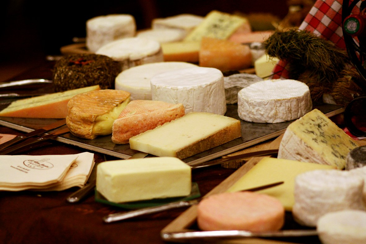 Assortiment de Fromages au buffet