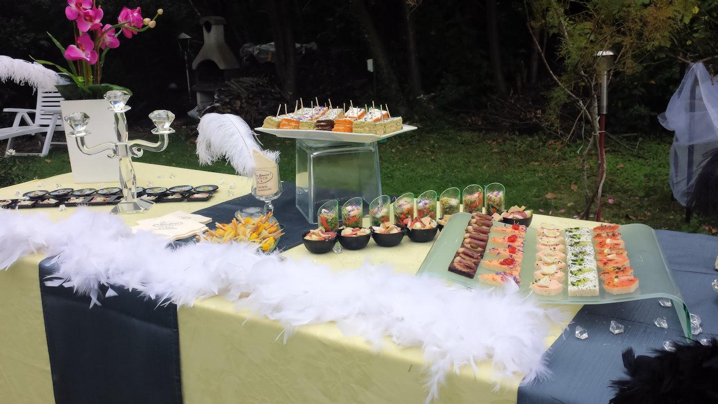 Buffet cocktail fiesta