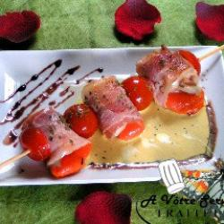 brochette de saint jacques