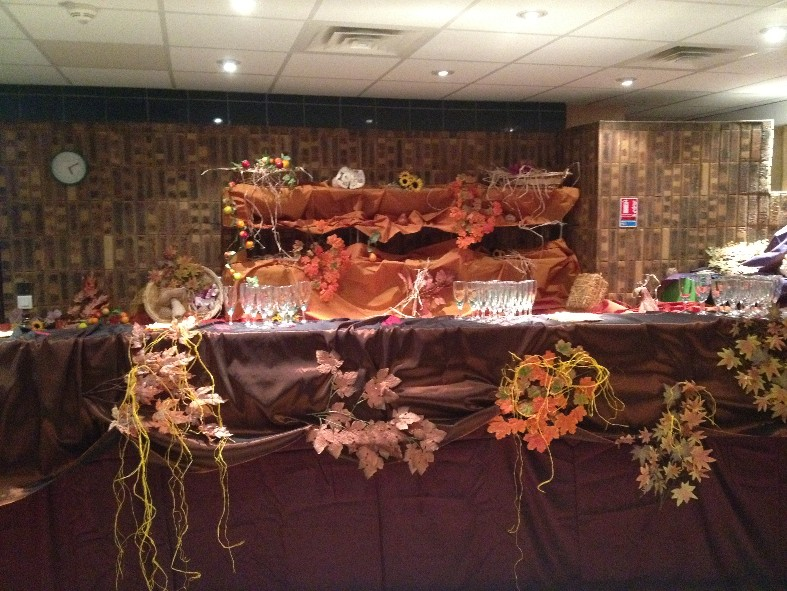buffet automne