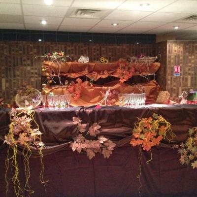 buffet automne
