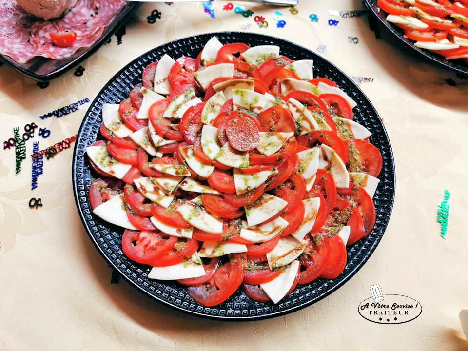 Effeuille tomate mozza
