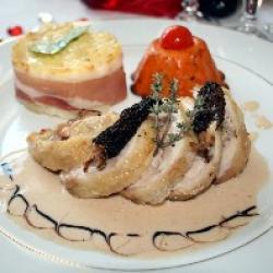 Mignonnette de poulet aux cèpes