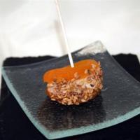 Mini Brochette Abricot au foie gras