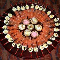 mini brochettes oeuf de caille saumon fumé