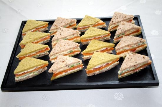 Mini club sandwichs