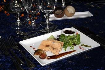 Pressé maison aux deux foie gras
