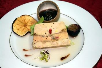 pressé aux foie gras et figue