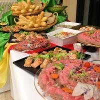buffet viandes et salades