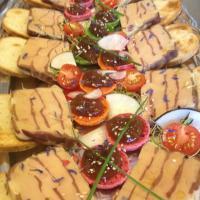 Marbre de Foie gras et magret fumet