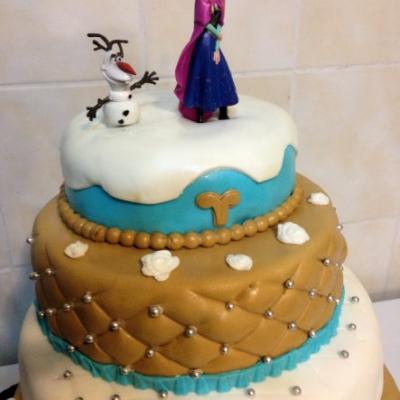 Reines des neiges US cake