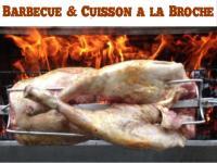 BBQ cuisson a la broche