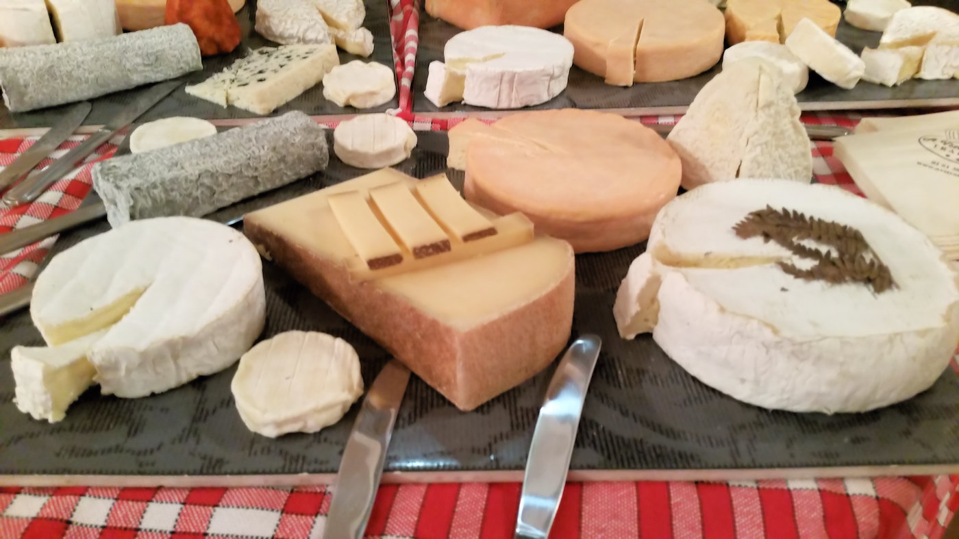Buffet fromages aoc