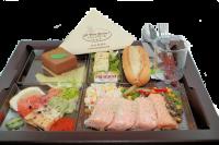Plateaux repas saumon