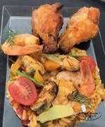 Paella camarguaise