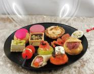 Reception covid cocktail plate 12 pcs